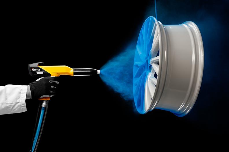 OptiFlex Pro Spraying Blue