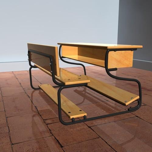 steel school bench 500x500 1